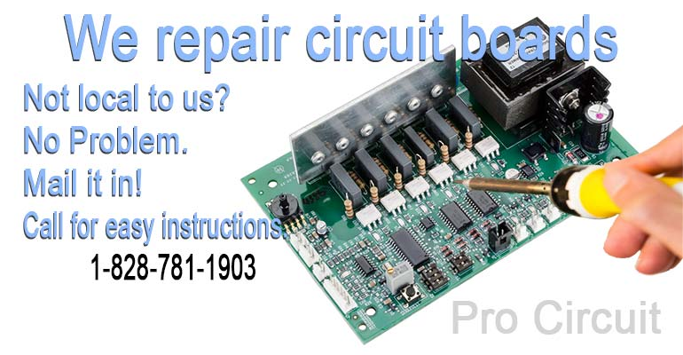 Circuit board repairs, nationwide