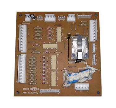 OTC Daihen Y2977Q Circuit Board Repair, Daihen ABB Board Repair