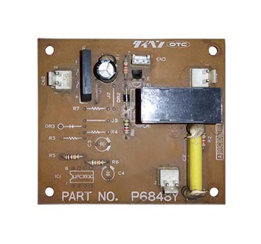 OTC Daihen P6848Y Circuit Board Repair, Daihen Circuit Board Rep